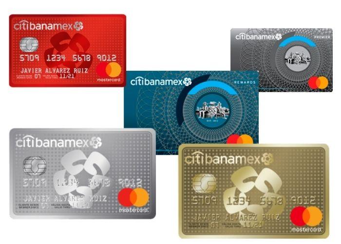 Tarjetas de crédito Banamex