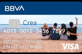 Tarjeta de crédito congelada CREA