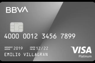 Tarjeta de crédito Platinum BBVA