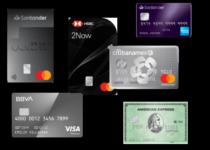 Mejores tarjetas de crédito de recompensas