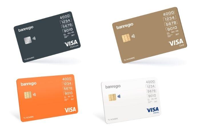 Tarjetas de crédito Banregio